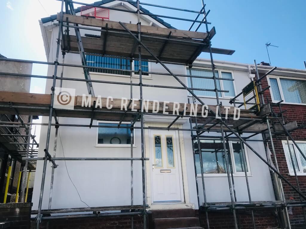 Monocouche Render Sheffield - MAC Rendering