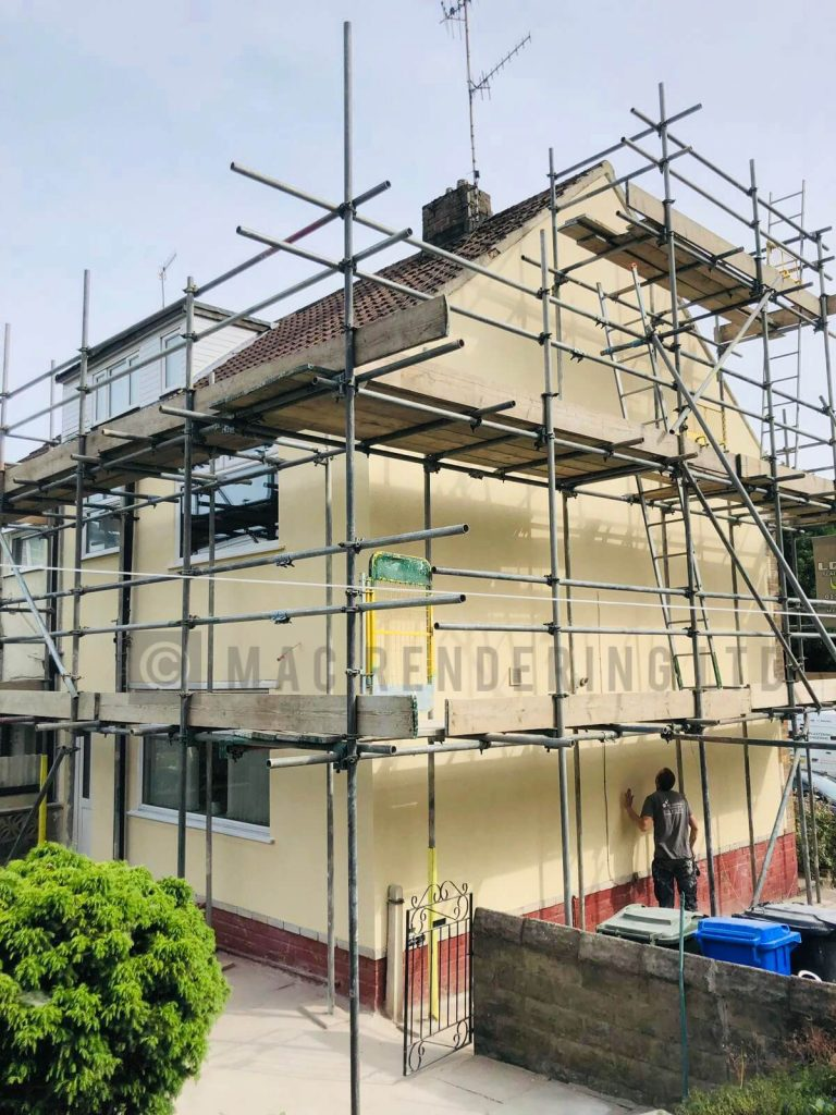 Rendering Contractors Sheffield - About - MAC Rendering